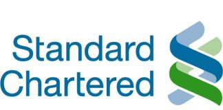 Standard Chartered Bank via PesaLink.