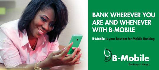 How to get on Bank Of Africa B-Mobile Services