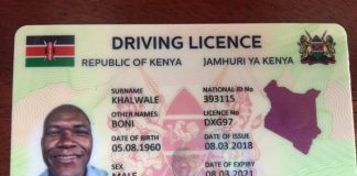 How to apply for the New Smart Kenyan Driving license