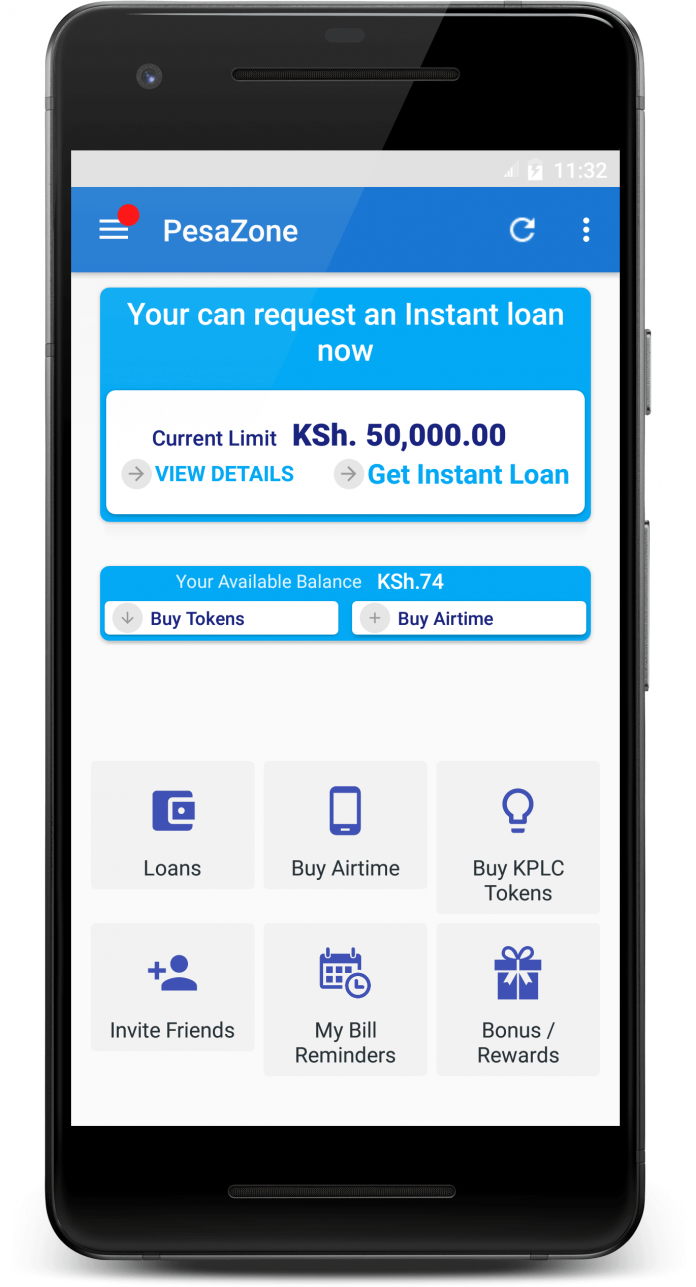How to Apply for a Loan on Pesazone Loan App