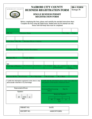 How to Print Your Nairobi County Single Business Permit Online
