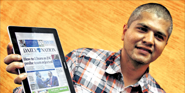 How to use the Daily Nation E-Paper from Safaricom