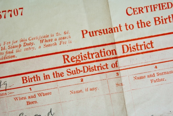 How to Re-register Birth Upon Legitimacy