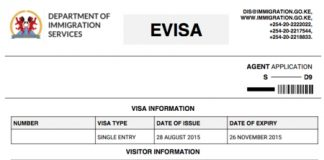 Government: How to apply for a Kenyan visa online