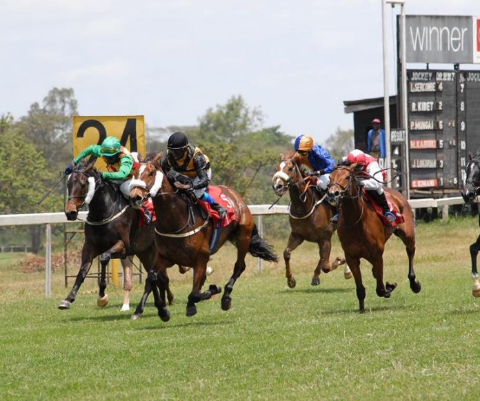 Where is Ngong Racecourse (Nairobi)