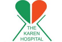 Where is The Karen hospital in Nairobi