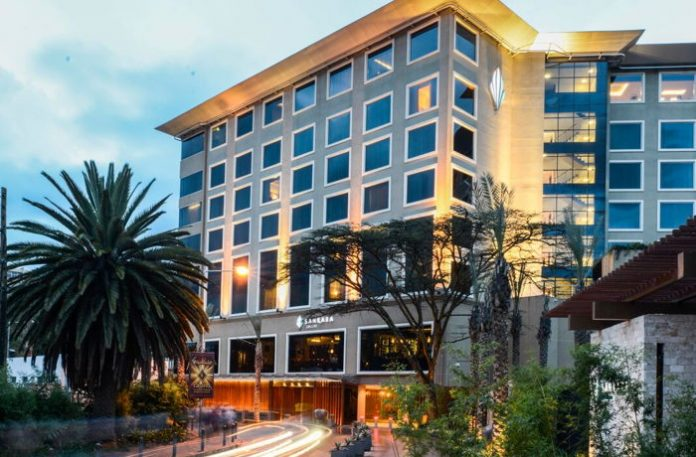 Where is Sankara Hotel located in Nairobi
