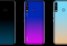 The Tecno Camon 12, Camon 12 Pro and Camon 12 Air have been launched into the Kenyan market