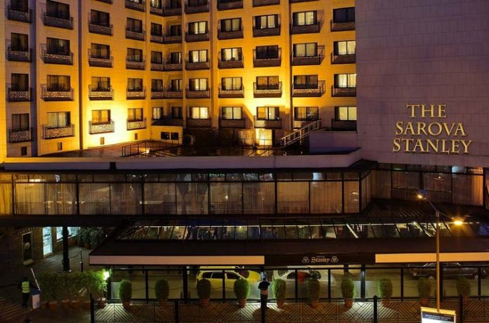 Where is Sarova Stanley located in Nairobi
