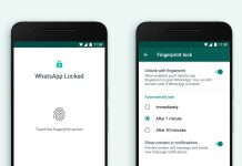 How to enable WhatsApp fingerprint lock feature on Android