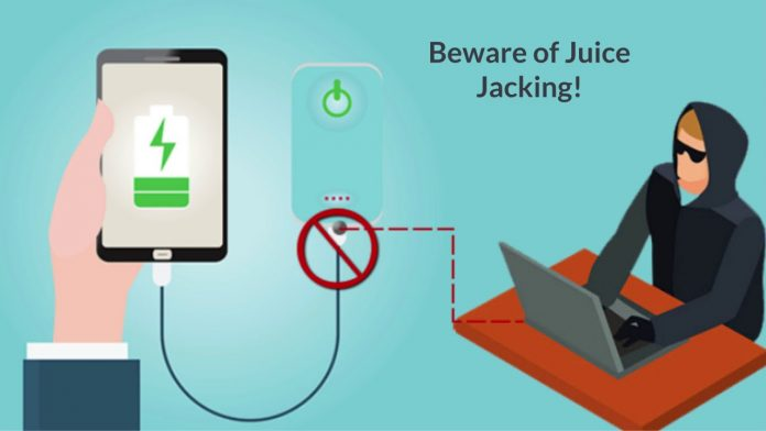 Beware of Juice Jacking