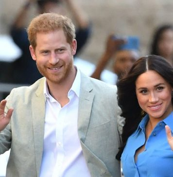Duke of Sussex, Prince Harry and his wife Meghan