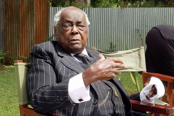 Kenya's first Attorney General Sir Charles Njonjo