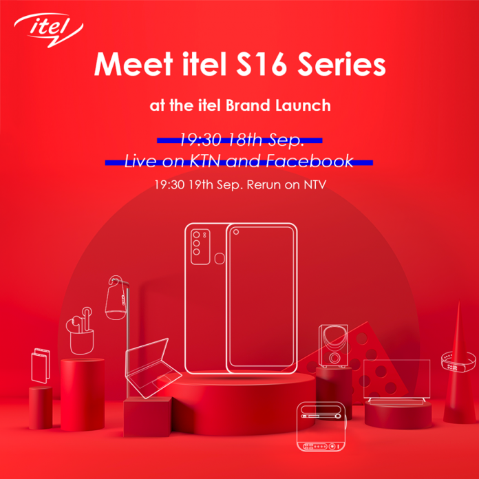 itel Kenya unveils itel S16 during its brand launch