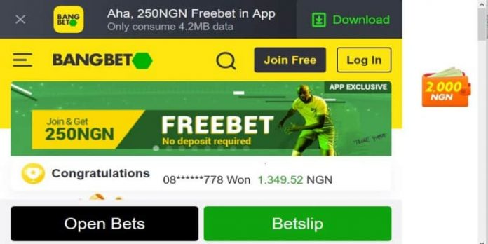 How to register and bet on Bangbet - step by step