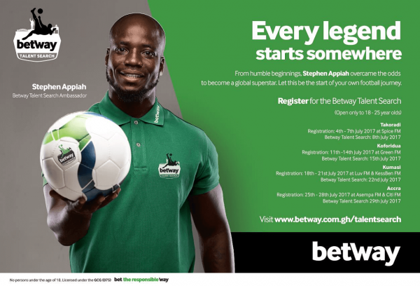 How to register and bet on Betway Ghana – Step by step guide