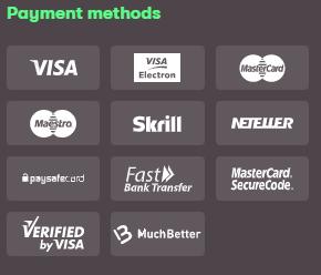 10Bet Ghana payment methods