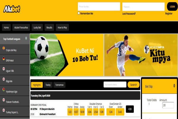 How to register and bet on AluBet Kenya - Step by step guide