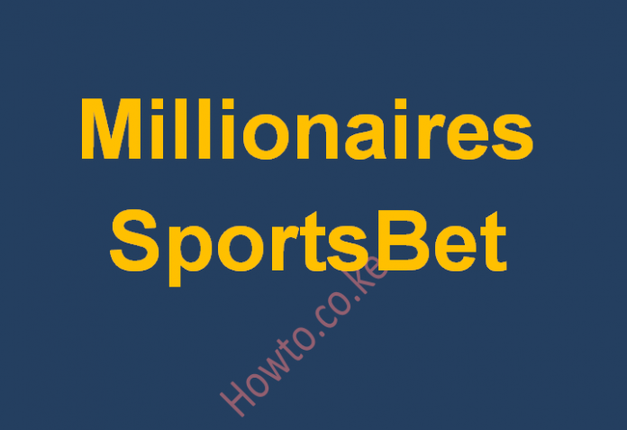 How to register and bet on Millionaire SportsBet Kenya - Step by step guide
