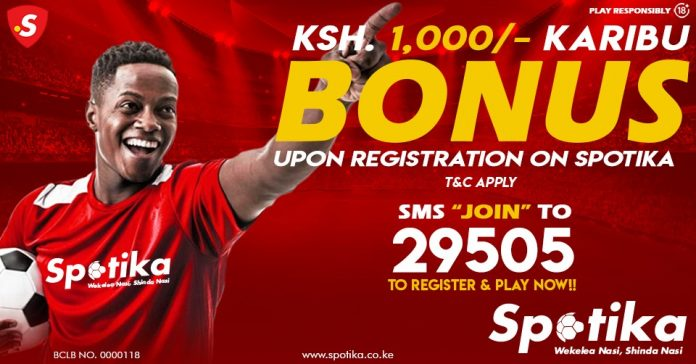 How to register and bet with Spotika Kenya - Step by step guide