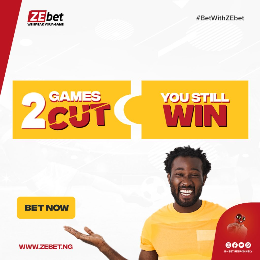 ZEbet_Two Game Cut